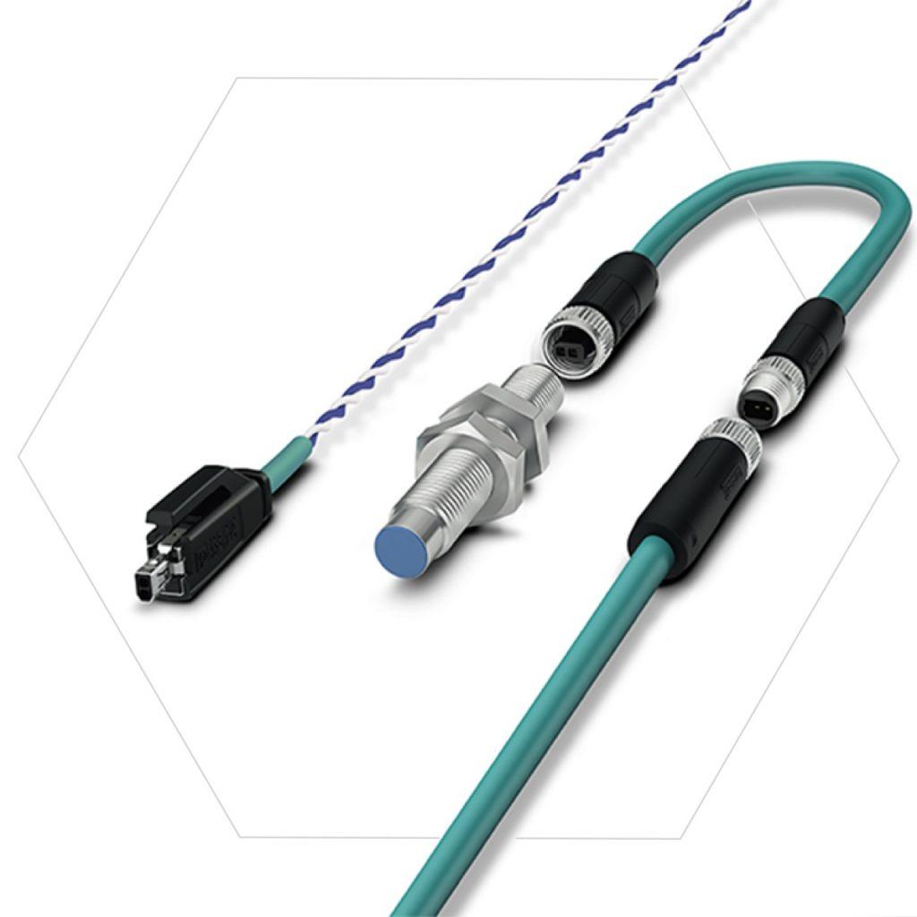 SPE Verkabelung nach IEC63171-2/-5